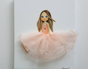 PEARL  giclee prints, art, decor, baby nursery, baby shower