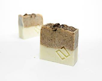 Coffee SOAP & almond. Exfoliating soap, moisturizing, exfoliating, moisturizing, soothing SOAP, anti-odor, coffee SOAP, almond oil SOAP
