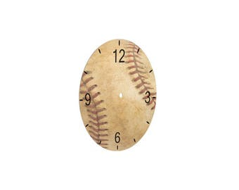 """8.125"""" Round Clock Face Only for Aluminum Clock Kits for Sublimation"""