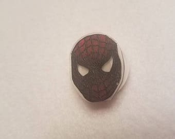 Spider-Man inspired pin