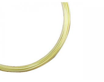 5 m aluminum diameter 1 mm color is Primrose yellow