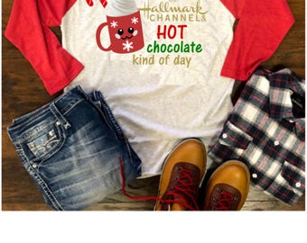 Hallmark Christmas shirt, Womens christmas shirt, womens gift, Christmas shirt, ladies Christmas shirt, Christmas movies shirt, Holiday Tee