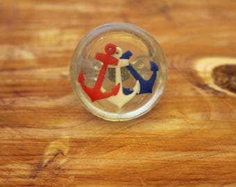 Anchors, Red, White & Blue