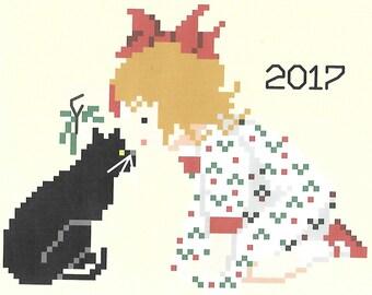 Under the Mistletoe with Kitty