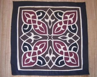 Pillow applique art, Egyptian, Handmade (5/5)