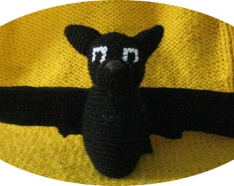 Bruce the Bat pattern