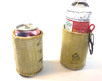Recycled Firehose Koozie