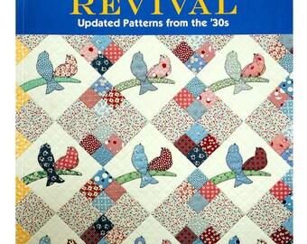 On Sale, Applique, Quilt Revival, Nancy Mahoney, Quilt Book, Quilt Patterns, Reproduction Pattern, Retro Quilt Patterns, Instruction Book