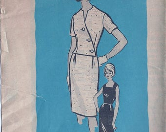 1960s Mail Order 9458 Women's Dress & Jacket Sewing Pattern