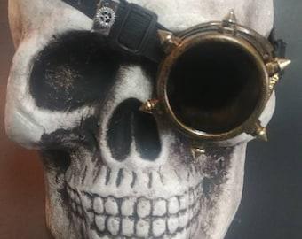 Steampunk Pirate Goggles Bronze
