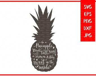 Pineapple SVG files for Silhouette svg files Cricut Explore Png Clipart Cricut downloads Summer svg cutting file Sayings svg cricut files