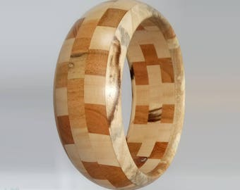 Chestnut - cherry wood bracelet