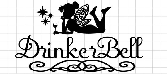 DrinkerBell decal. from FireWifeFransenCo on Etsy Studio