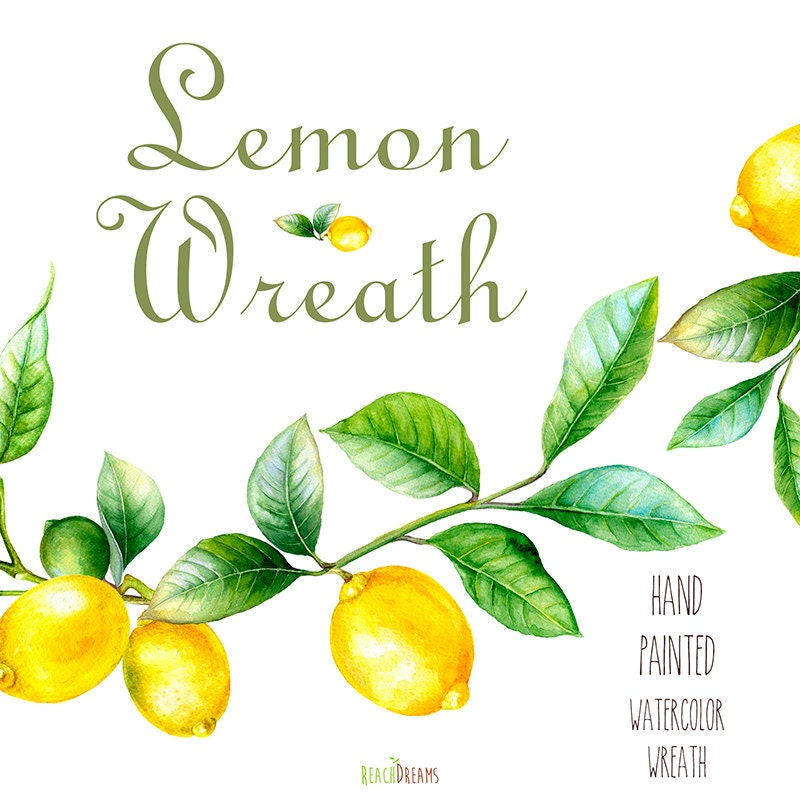 Lemon Kitchen Wall Art