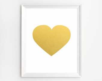 Heart print wall art, Heart Printable, Nursery Wall Art, Nursery Decor, Kids heart artwork, Heart Print, Heart wall decor