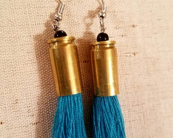 Bullet Casing Earrings (9mm)