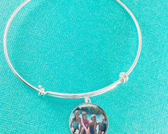 Mom Gourmet Photo Cartography Bangle by DLK Designs