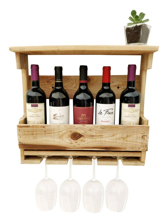 casier vin bois bo te vin bois r cup r mur verre vin. Black Bedroom Furniture Sets. Home Design Ideas