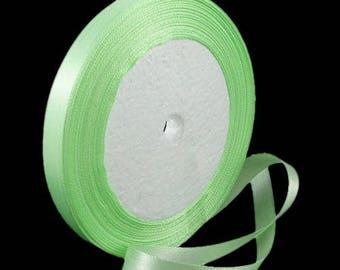 Green Jade 10 mm Satin Ribbon 24 m