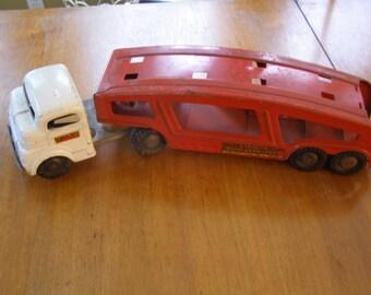 Vintage Structo Toy Truck Car Hauler