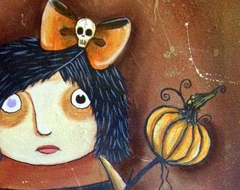 I Heart Ichabod Original Acrylic Painting