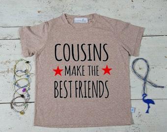 Cousins Best Friends - Cousin Gift - Best Cousins - Big Cousin Shirt - Cousins Clothing - Family Tee Shirts - Family Reunion Shirts