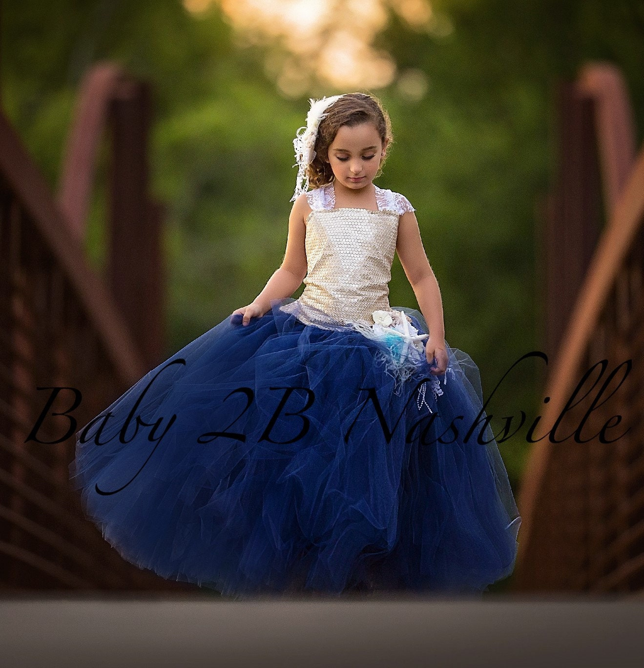 Gold sequin dress flower girl dress navy dress tulle dress zoom izmirmasajfo