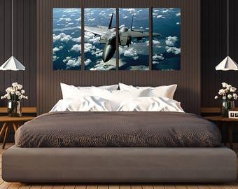 Jet in the Sky Wall Art