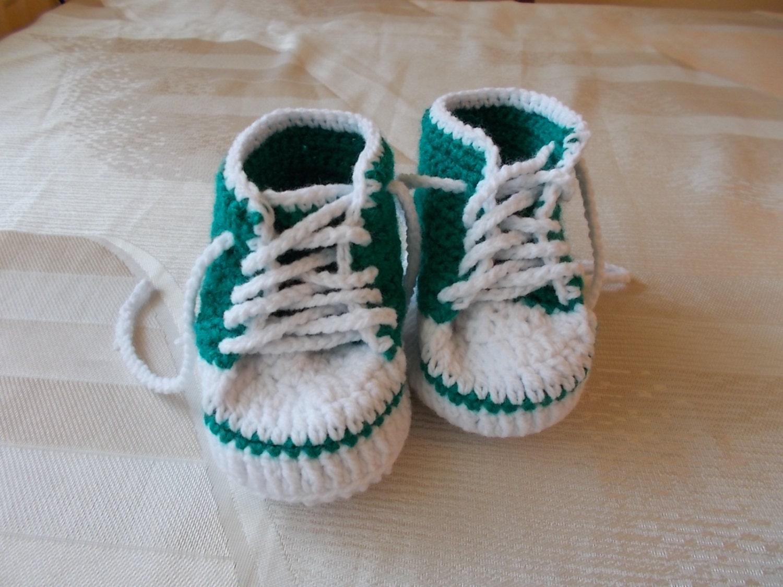 Turnschuhe Baby Converse häkeln häkelarbeitbaby Stiefel