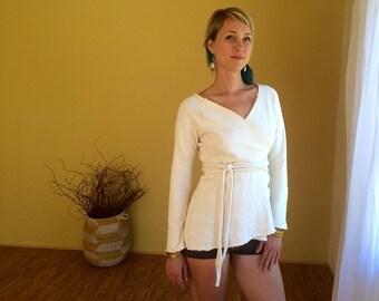 Lotus Wrap//Hemp Wrap//Organic Cotton Hemp Fleece