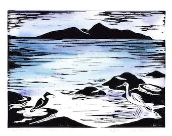 The Heron- Waratah Bay