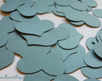 Heart Paper Craft Pack 70 Paper Hearts: Custom Large Heart Confetti, Craft Supplies, Scrapbooking, Weddings, Table Decor