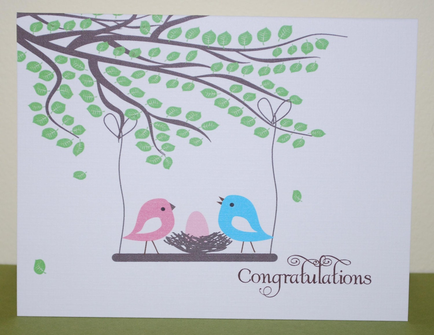 Congratulations On New Baby Card Boatremyeaton