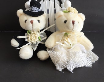 Party Favors ~~Wedding Teddy Bear set , Bear measures approximately 6 inches~~18 Dollars