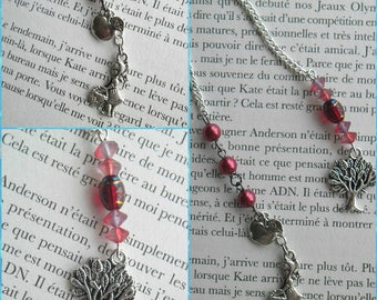 Bookmark jewelry of Apple picking