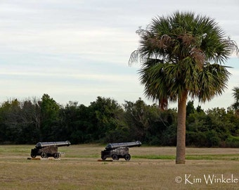 Fort Moultrie Cannons 5x7 Fine Art Photograph
