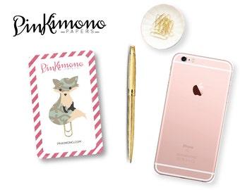 Cute Fox Planner Clip / Bookmark | Planner Accessories