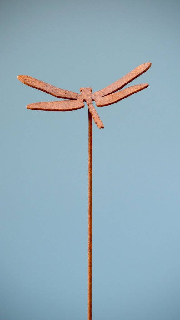dragonfly garden stakes. Dragonfly Garden Stake   Yard Art Gifts For Mom Metal P405 Stakes