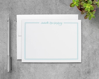 Personalized Stationery Set | Personalized Stationary Set | Personalized Note Cards Set | Personalized Notecard Set | PSFLN_0004