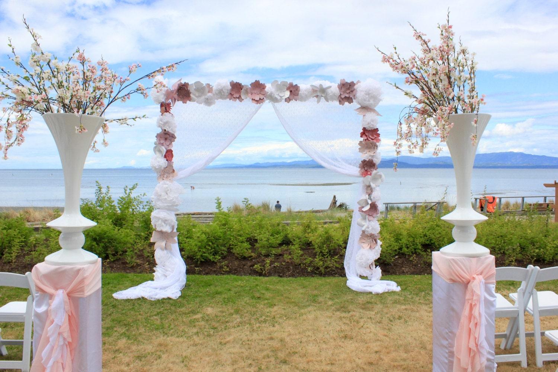 Paper Flower Wedding Arch Vatozozdevelopment