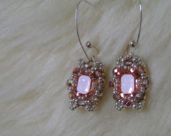 "Pattern/Tutorial in English for the earrings"" Denia"""