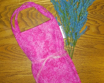 Cold and Heat Flax Seed Pack/Pink Flower Print Removable Cover