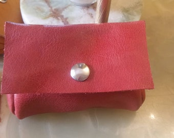 Handmade wallet, Genuine leather women wallet, Ladies small wallet, Leather Coin Purse, Children's purse, Pocket purse, Pocket wallet