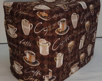 Coffee Cups Toaster Cover