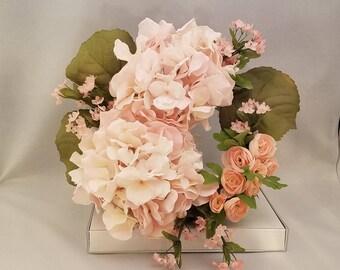 Peony & Rose Wreath