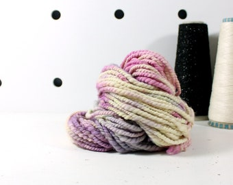 lilac dreams   ... handspun yarn set, weaving creative yarn, hand spun, hand dyed yarn, handspun art yarn