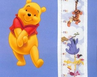 Winnie The Pooh Counted Cross Stitch Pattern,Doll Cross Stitch patterns, Disney Cross Stitch / amigurumi pooh / Ebook / PDF/Instant Download