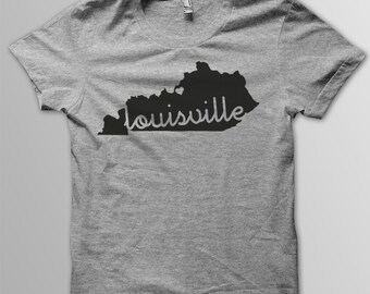 Custom KENTUCKY Hometown  Tri blend Tshirt