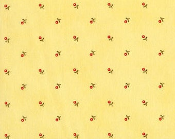 Anns Arbor Buttercup 14845 16 - Moda Fabrics 100% Cotton Quilting Fabric by Minick and Simpson
