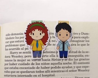 Friends || Magnetic Bookmark